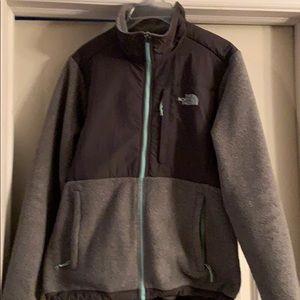 Women's Denali North-face Jacket Grey